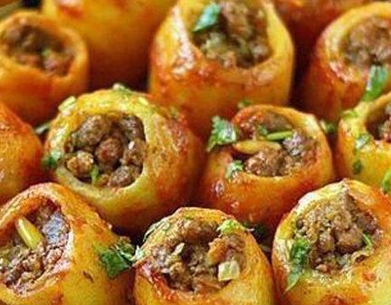 MAMME RICETTE – Patate Ripiene di carne macinata…Buon appetito :)