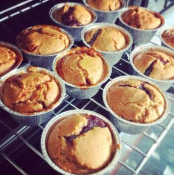 MAMME RICETTE – Muffin Vegani con Cuore di Marmellata!