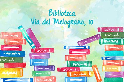 """""""Via del Melograno, 10"""" la biblioteca dell'Associazione IL MELOGRANO aspetta tutti, grandi e piccoli, ogni Venerdì pomeriggio!"""