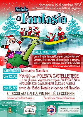 Sabato15 e Domenca 16 Dicembre Tantissimi eventi natalizi per i bambini!!!
