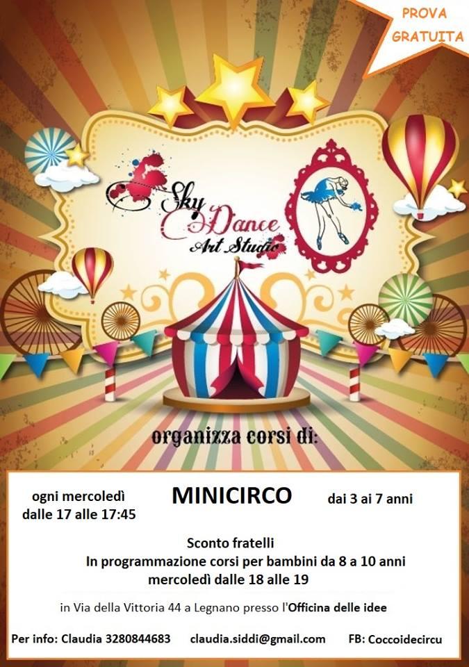 """Bambini protagonisti al Circo"" – Coccoi de Circu con Claudia!!!"