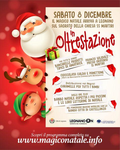 """8 e 9 Dicembre """"Magico Natale""""…..a Legnano!"""