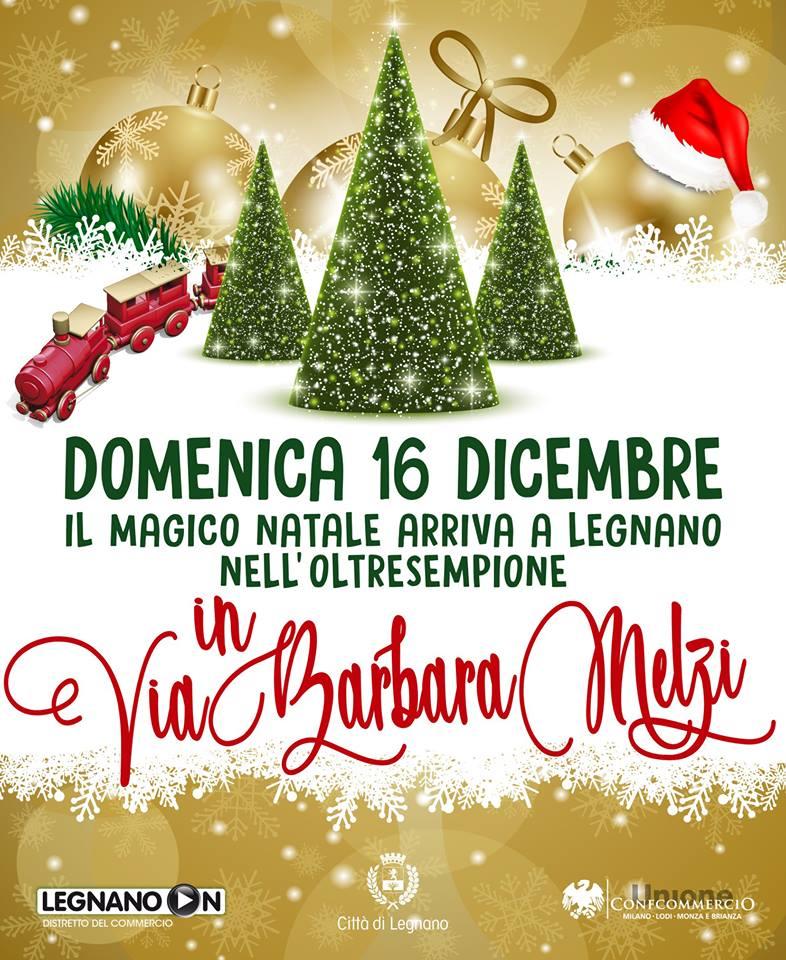 14 e 15 Dicembre con Il Magico Natale di Legnano!