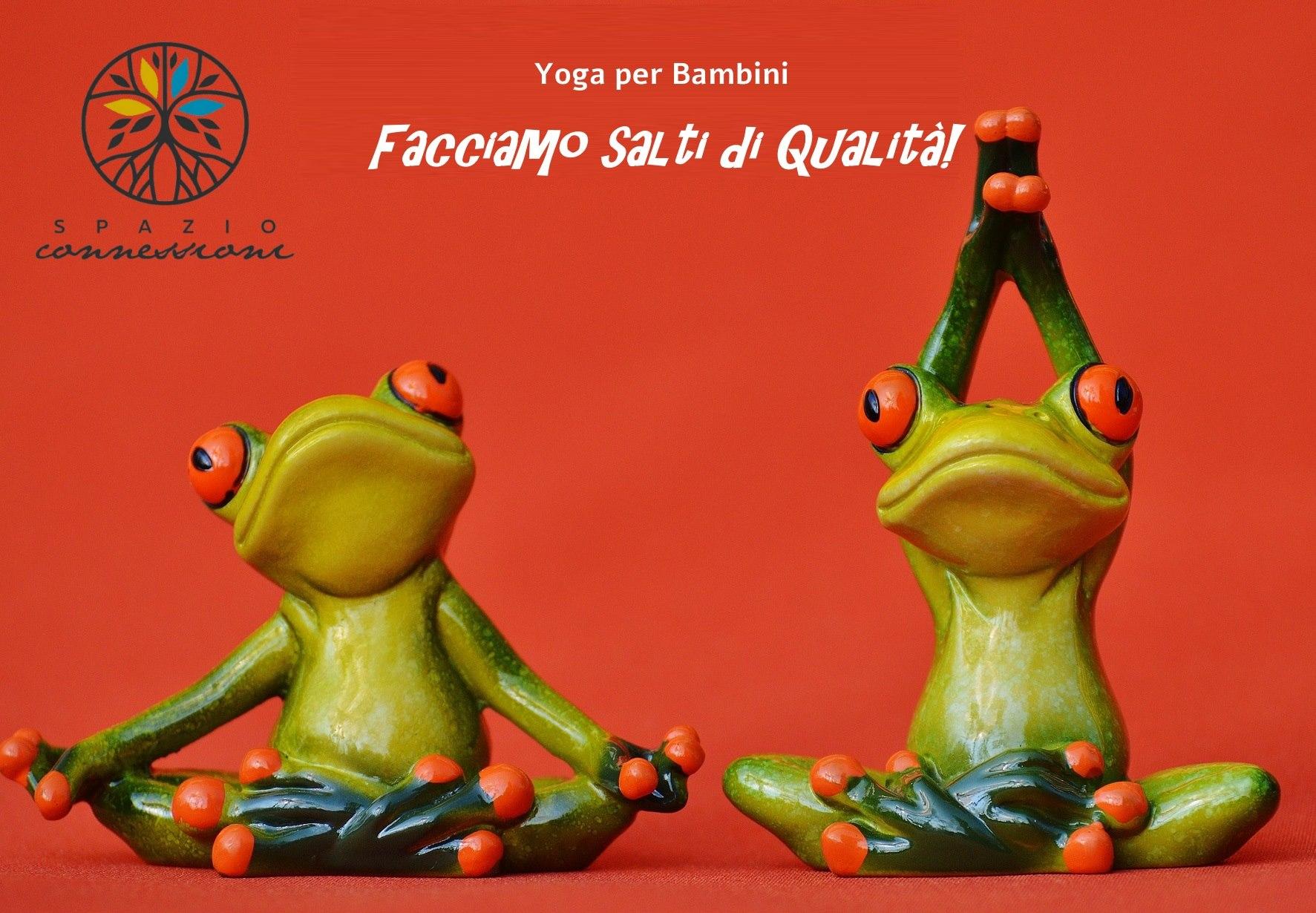 Sabato 26 Gennaio – Inizio Percorso Yoga Bambini – Spazio Connessioni