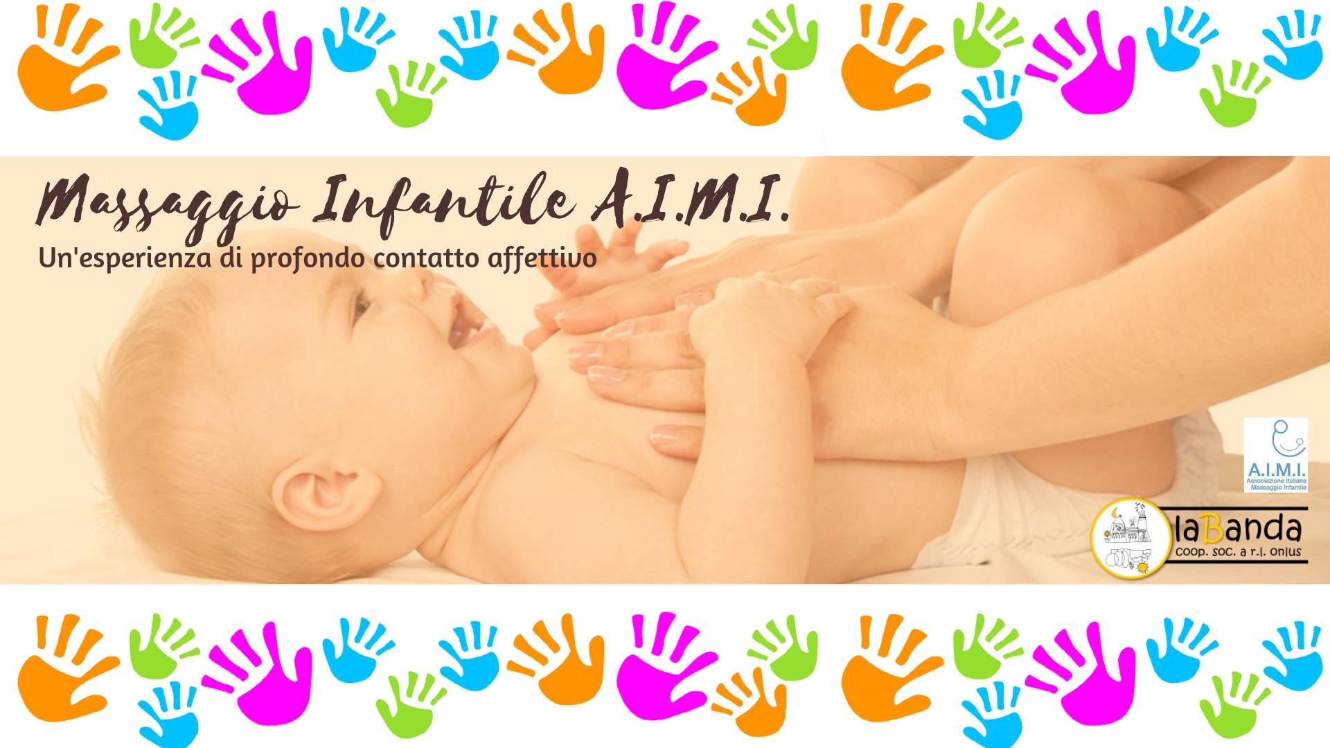 """Da Venerdì 1 Marzo – Nuovo Corso """"Massaggio Infantile A.I.M.I."""" – laBanda coop"""