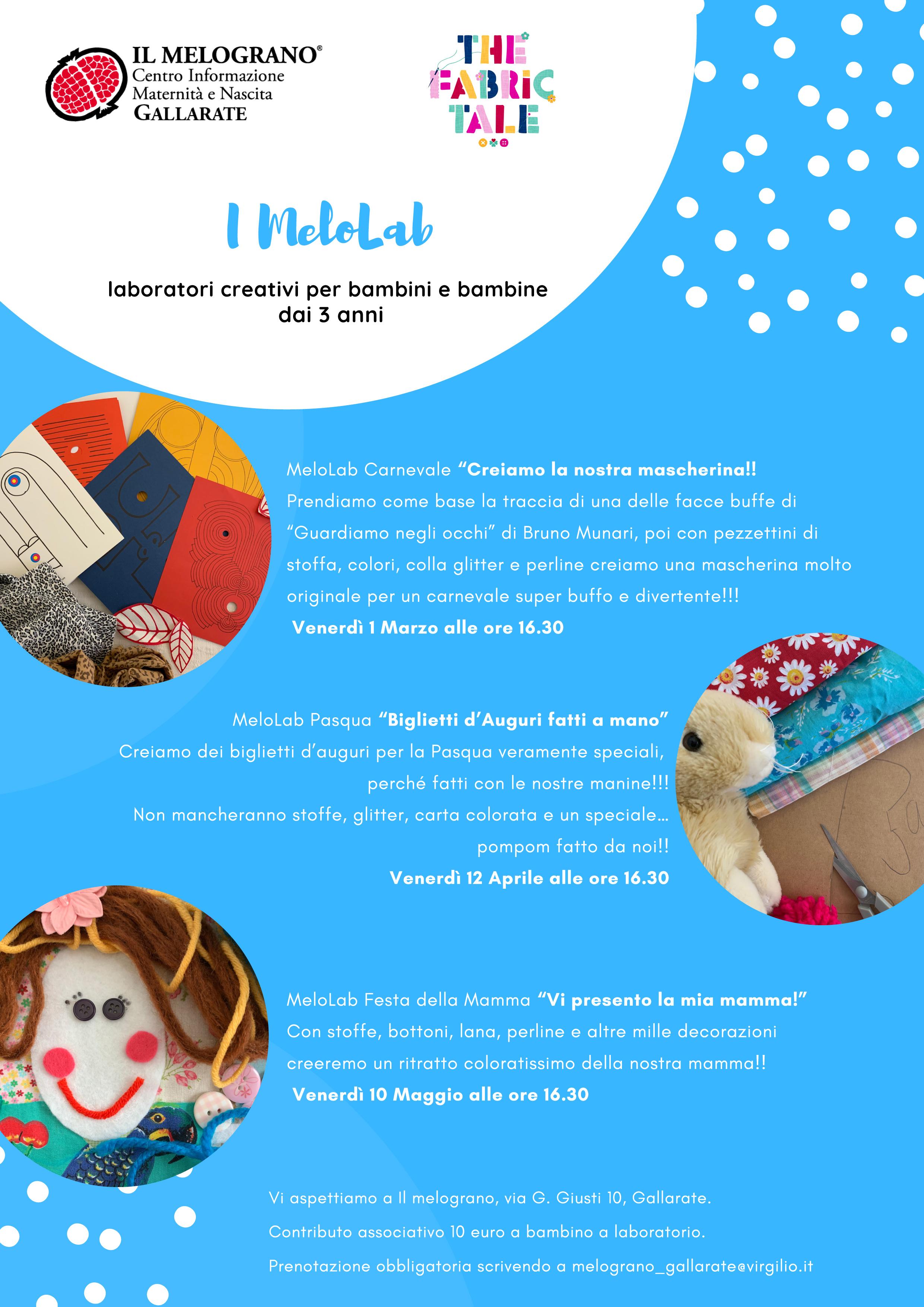 Nuovo Ciclo Di Laboratori Creativi Per Bambini Dai 3 Anni 1