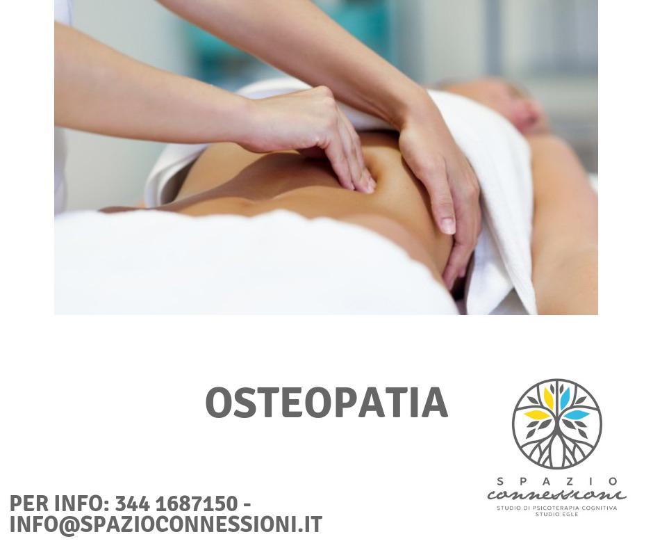 Conoscere l'OSTEOPATIA e tutti i suoi benefici con SPAZIO CONNESSIONI