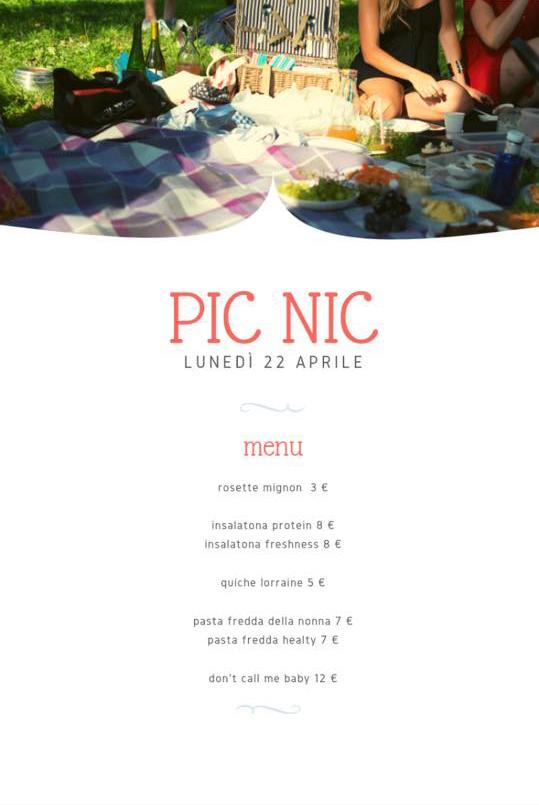 Lunedì 22 Aprile – PICNIC di Pasquetta alla CORTE DEL CILIEGIO!!