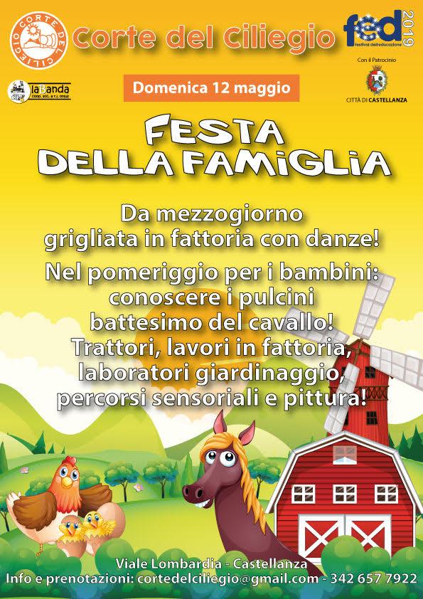 Domenica 12 Maggio – Festa della Famiglia – Corte del Ciliegio