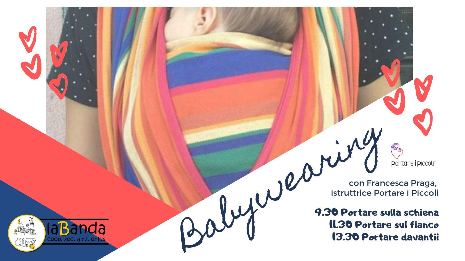 Mercoledì 18 Settembre – Giornata Dedicata BABYWEARING – laBanda Coop.