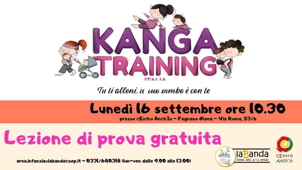 """Lunedì 16 Settembre – Lezione di prova gratuita """"KANGATRAINING"""" – laBanda coop presso cEntro Anch'Io"""
