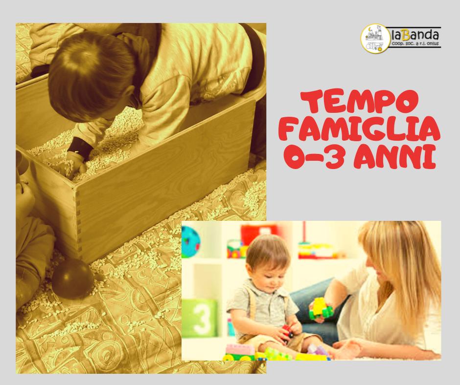 TEMPO FAMIGLIA 0-3 anni – laBanda Coop.