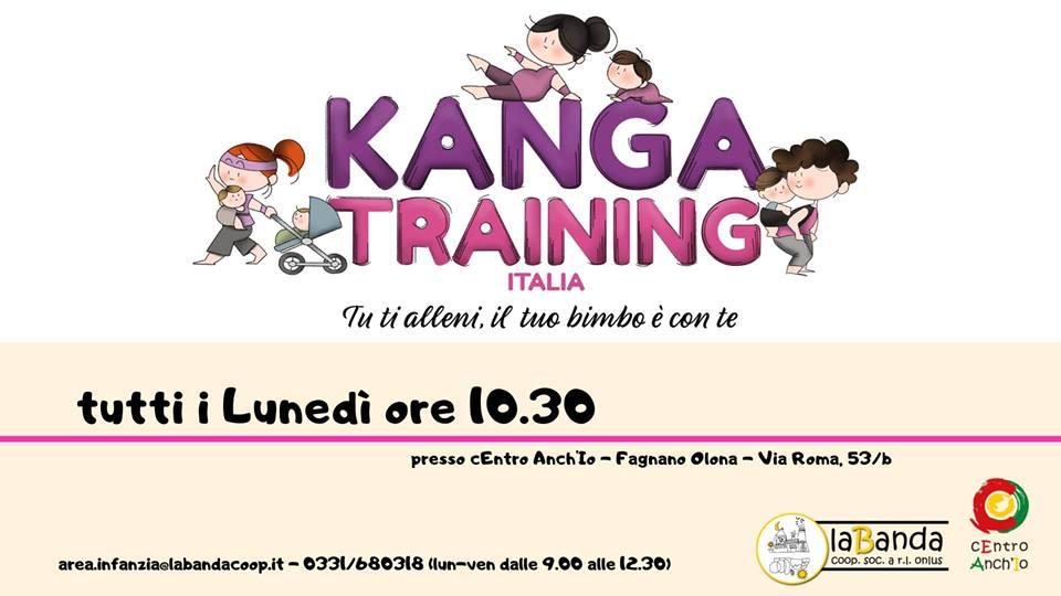 Da Lunedì 11 Novembre – Partenza Corso KANGATRAINING – laBanda Coop presso cEntro Anch'Io a Fagnano Olona