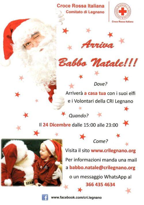 I bambini aspettano Babbo Natale e Babbo Natale arriva con tutti i doni…! Ci pensa la Croce Rossa di Legnano a far vivere questo indimenticabile ed emozionante momento ai vostri bimbi!