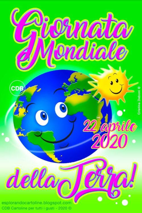 Piccole curiosità: 22 aprile 2020 Earth Day-Giornata Mondiale della Terra – 50° anniversario! Canto, poesia e disegno!