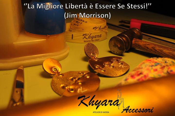 Khyara Atelier – COLLEZIONE ACCESSORI in VERA PELLE – Regali originalissimi per Natale!!