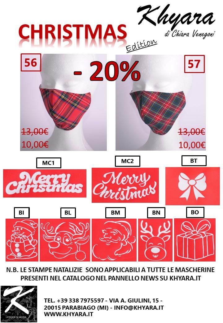 Mascherine Khyara Atelier – Christmas Edition!!!