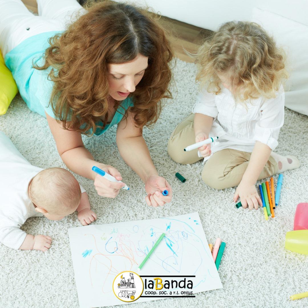 Iniziative per la prima infanzia – TEMPO FAMIGLIA e CENTRO PRIMA INFANZIA – laBanda Coop